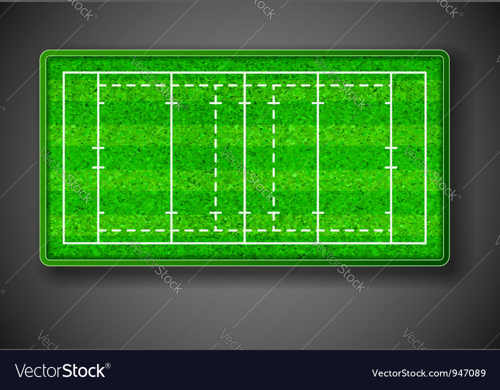 Rugby stadium vector | Price: 1 Credit (USD $1)