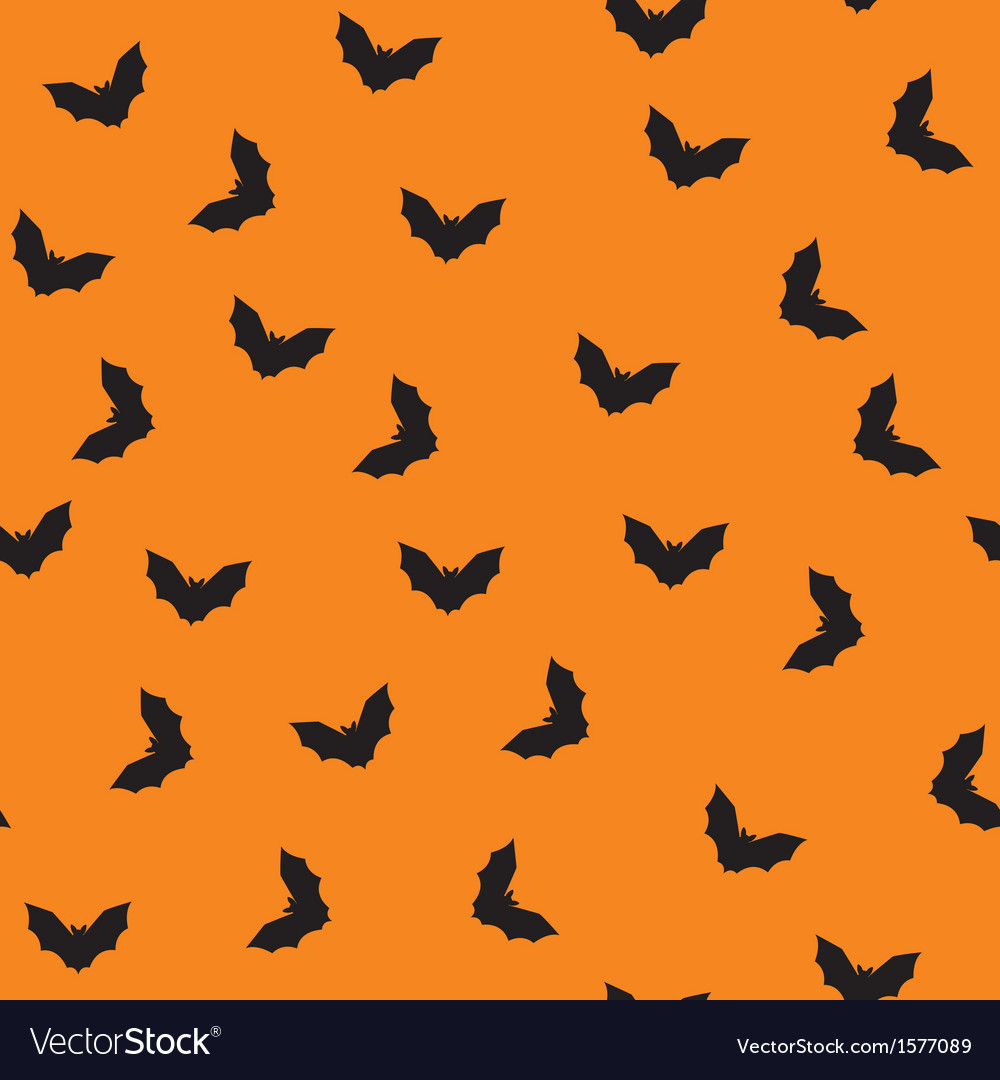 Seamless bat pattern vector | Price: 1 Credit (USD $1)