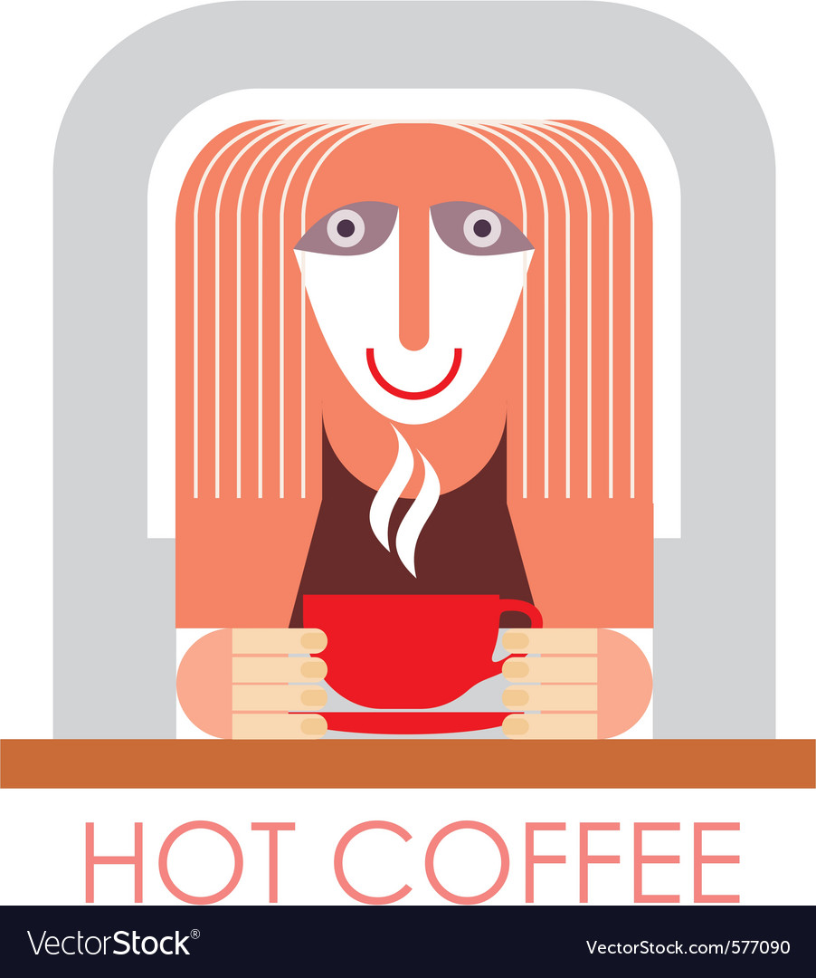 Coffee in cafe vector | Price: 3 Credit (USD $3)