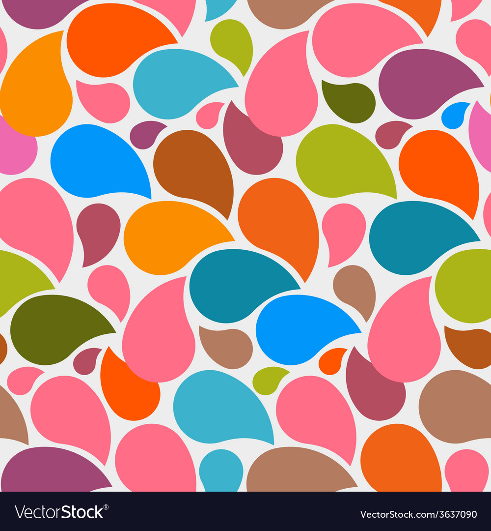 Colorful seamless abstract liquid background vector | Price: 1 Credit (USD $1)