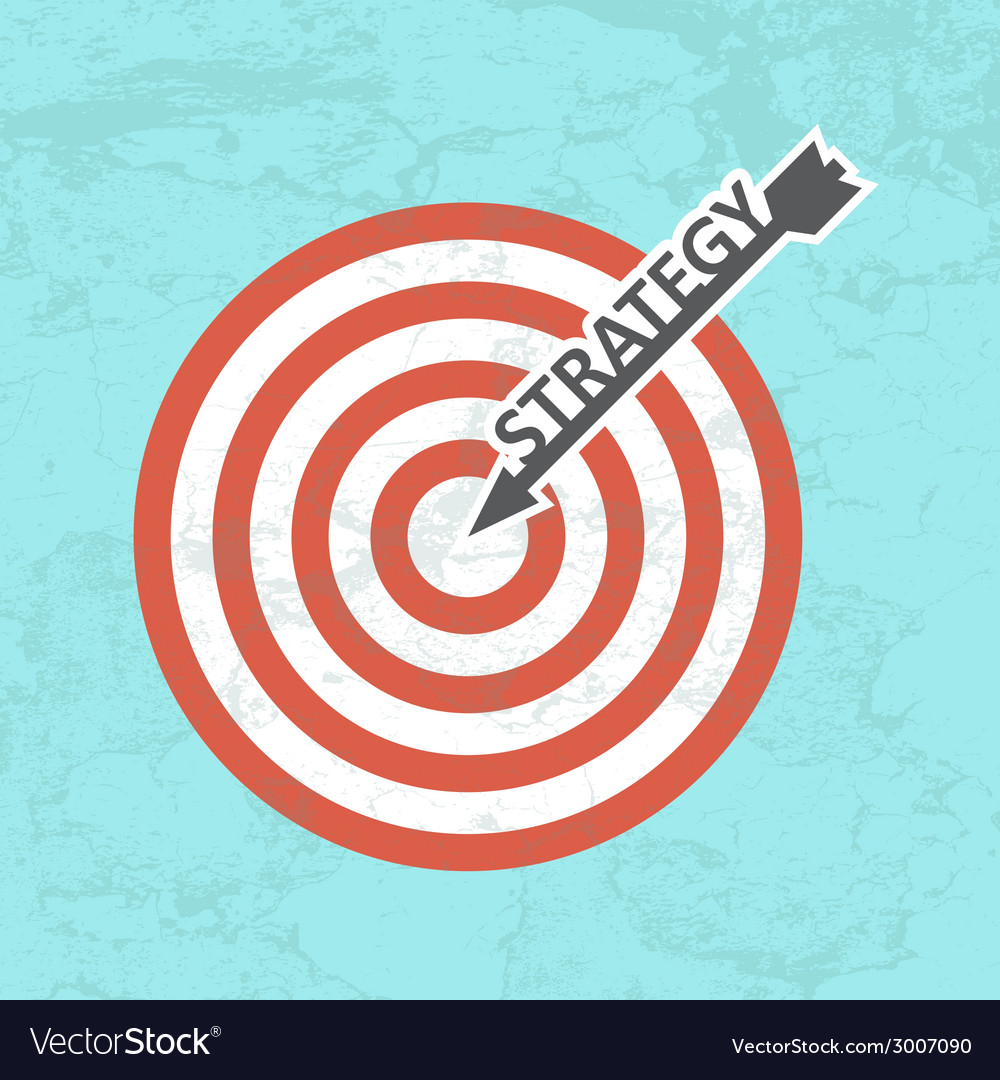 Strategy concept vector | Price: 1 Credit (USD $1)