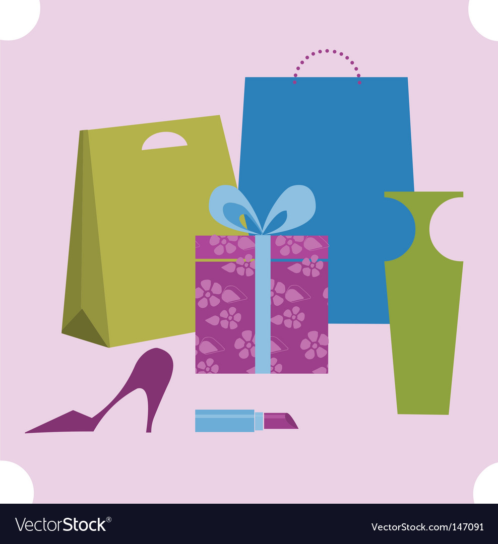 Shopping design elements vector | Price: 1 Credit (USD $1)