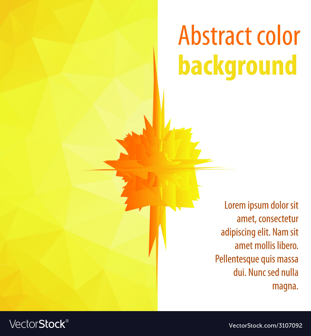 Color on an abstract of a modern design vector | Price: 1 Credit (USD $1)