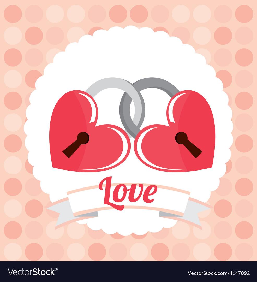 Love card vector | Price: 1 Credit (USD $1)