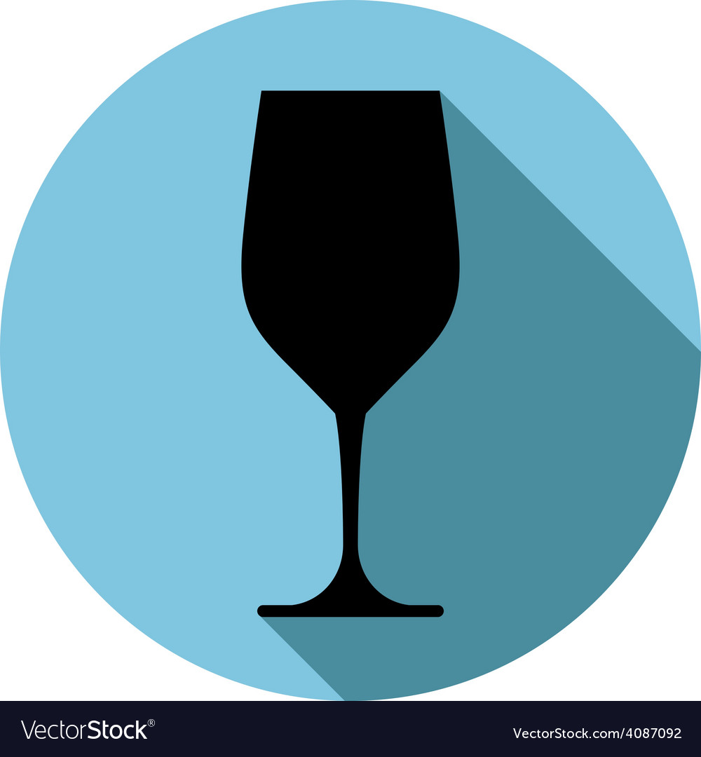 Sophisticated wine goblet stylish alcohol theme c vector | Price: 1 Credit (USD $1)