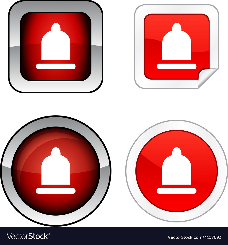 Condom button set vector   Price: 1 Credit (USD $1)