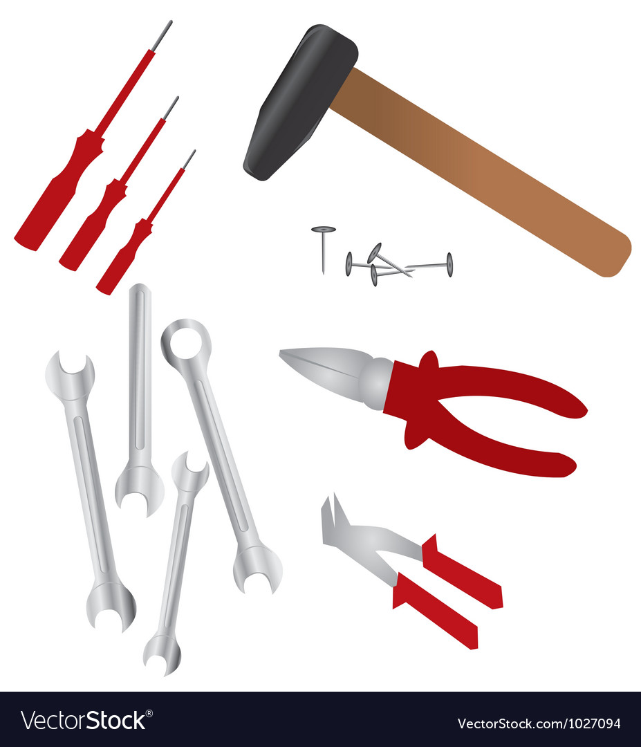 Hardware tools vector | Price: 1 Credit (USD $1)