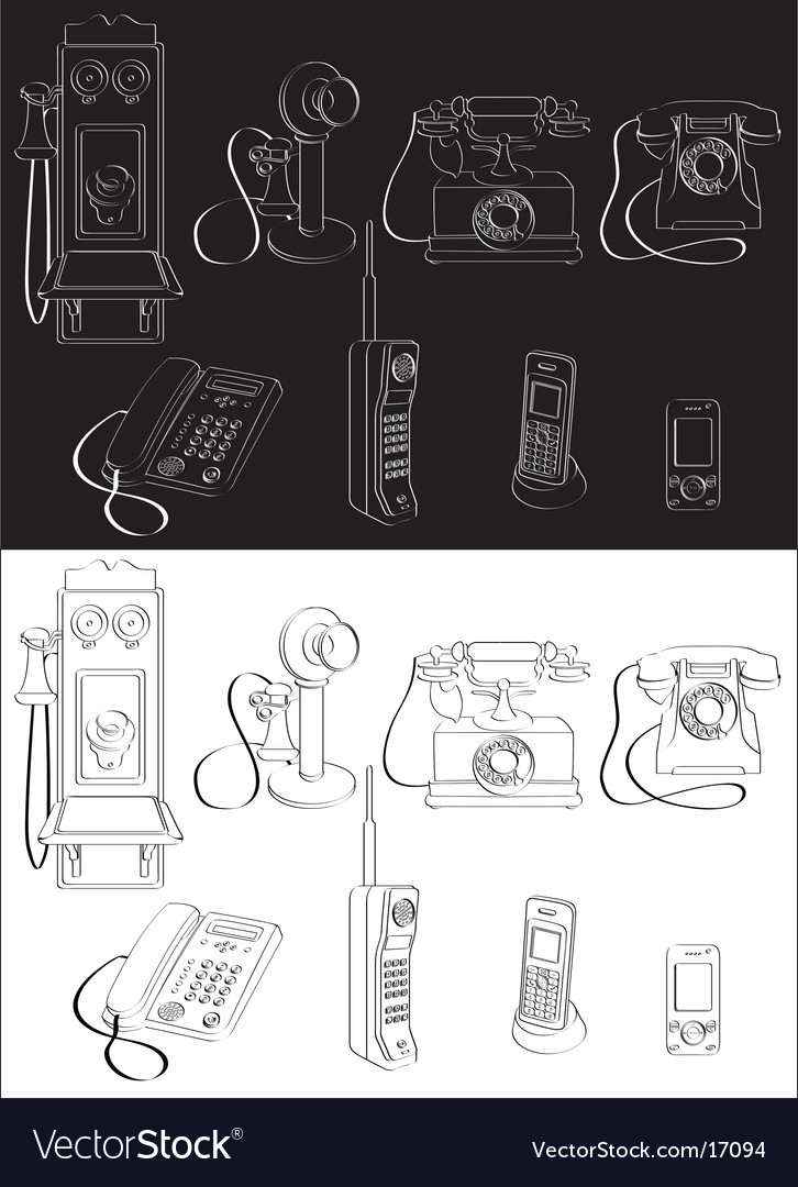 Phone evolution vector | Price: 3 Credit (USD $3)