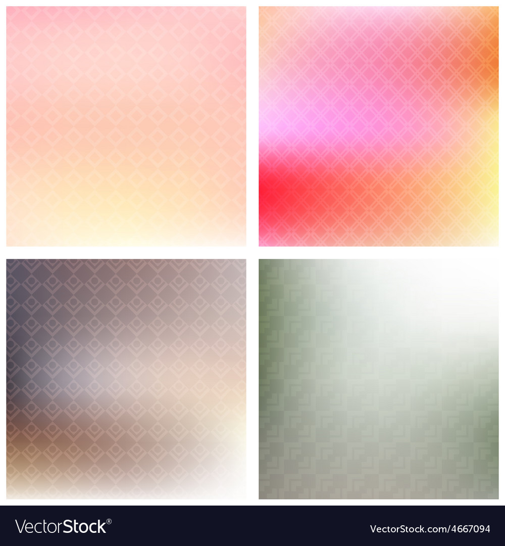 Soft patterned backgrounds vector | Price: 1 Credit (USD $1)