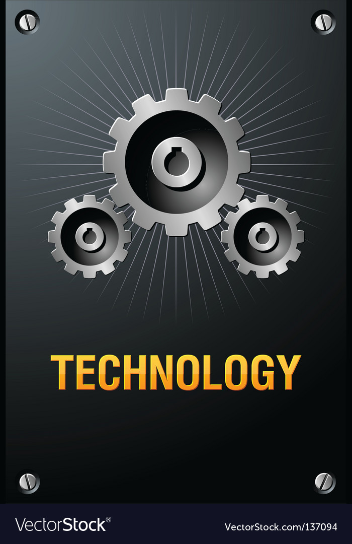 Technology sign vector | Price: 1 Credit (USD $1)