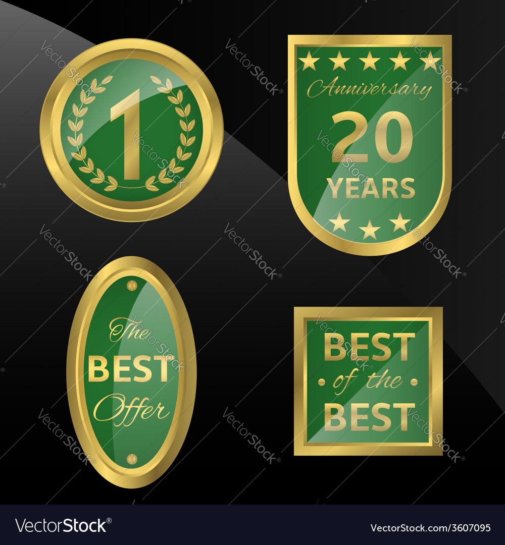 Best of the best icon vector | Price: 1 Credit (USD $1)