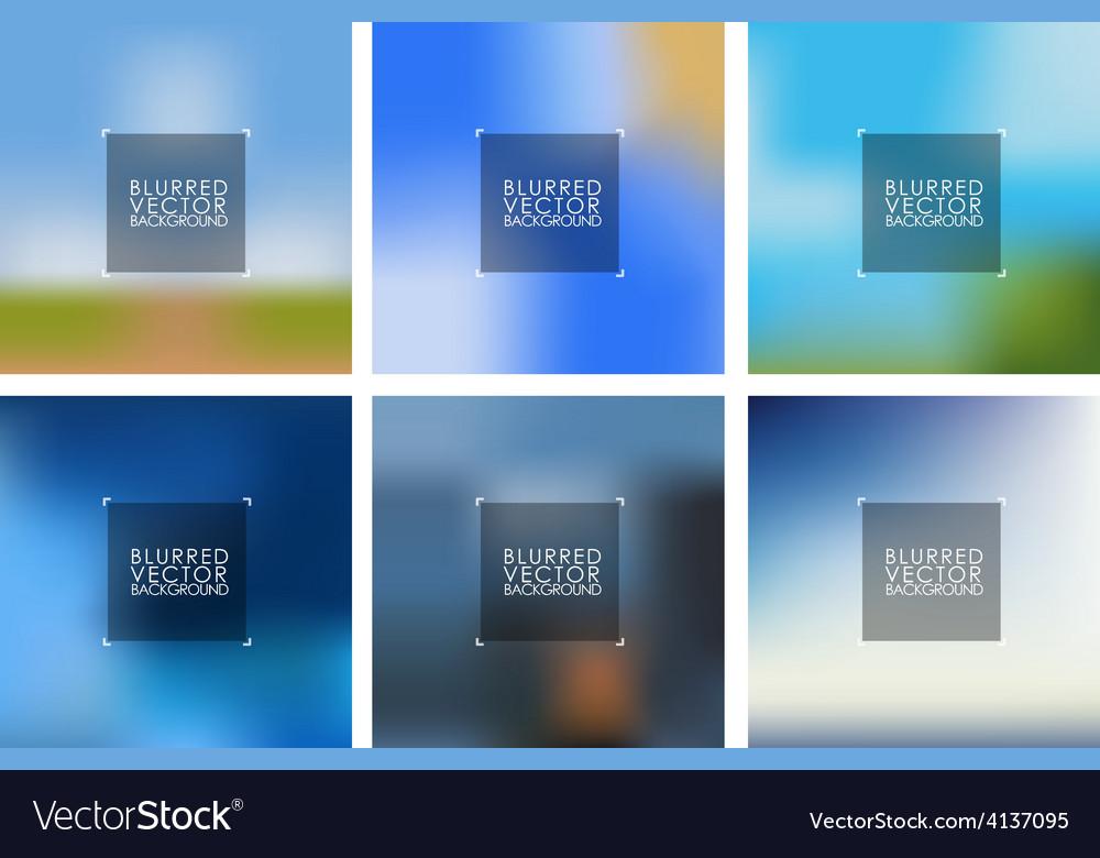 Blurred backgraund vector