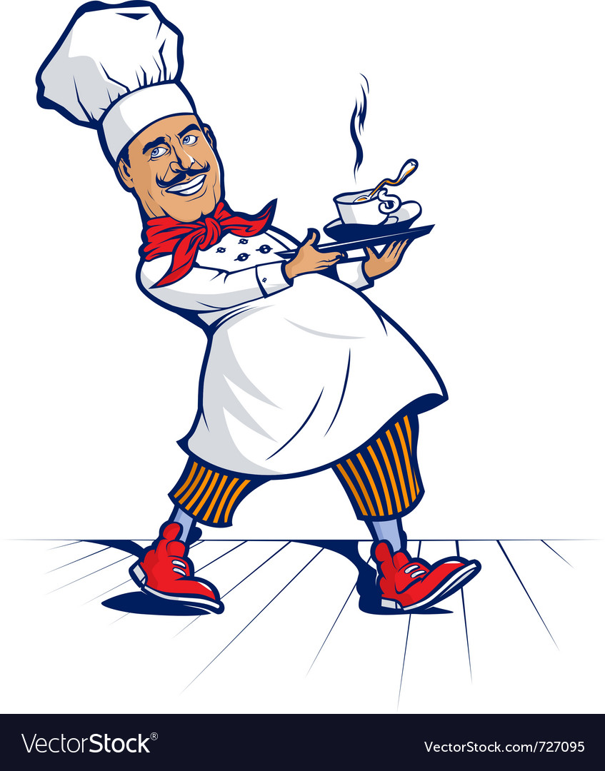 Chef smile vector | Price: 3 Credit (USD $3)