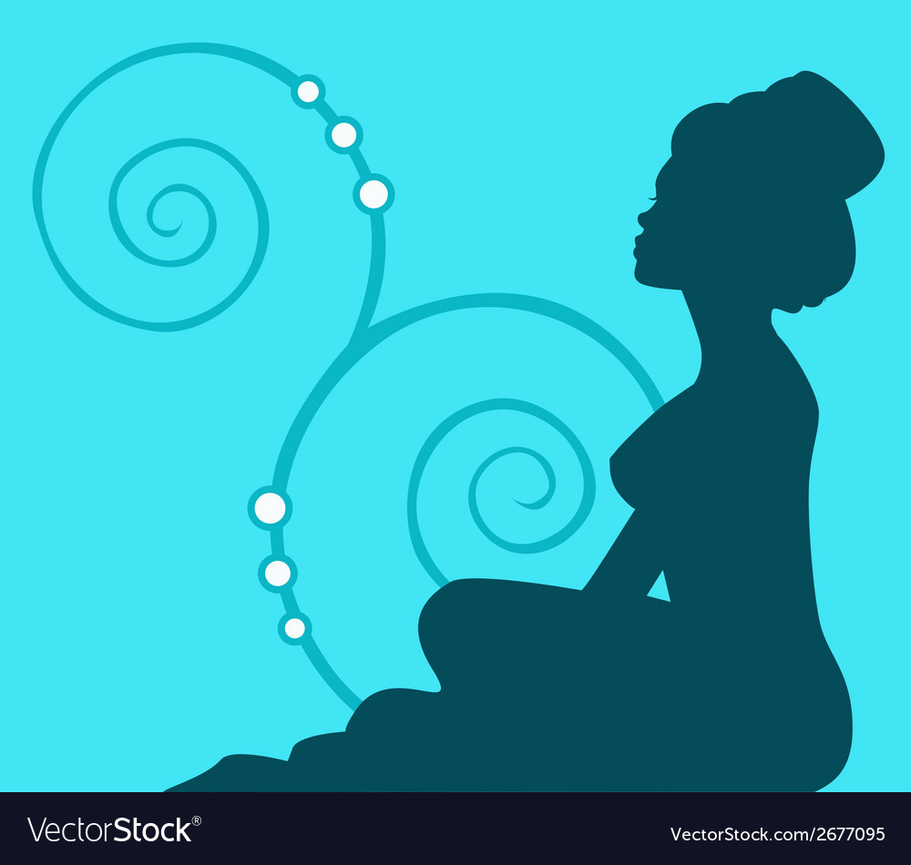 Young woman wellness vector   Price: 1 Credit (USD $1)