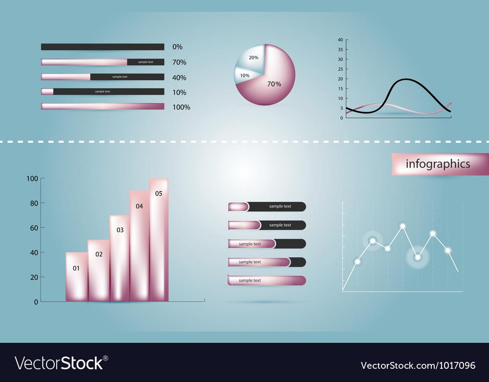 Infographics elements vector | Price: 3 Credit (USD $3)