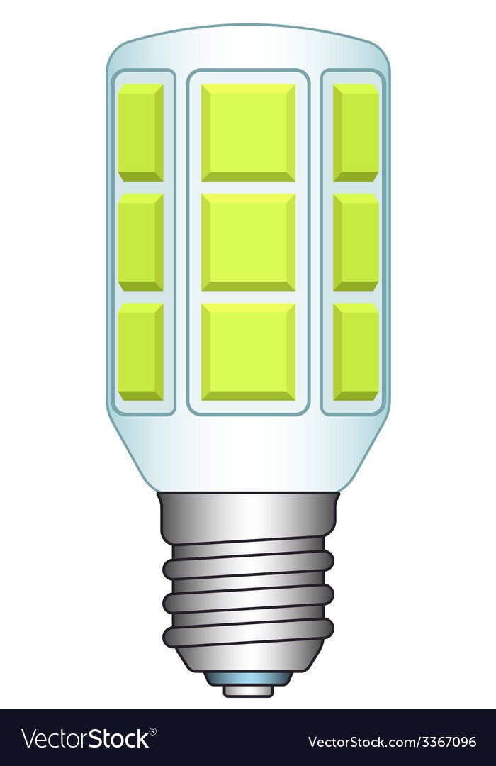 Led lamp vector | Price: 1 Credit (USD $1)