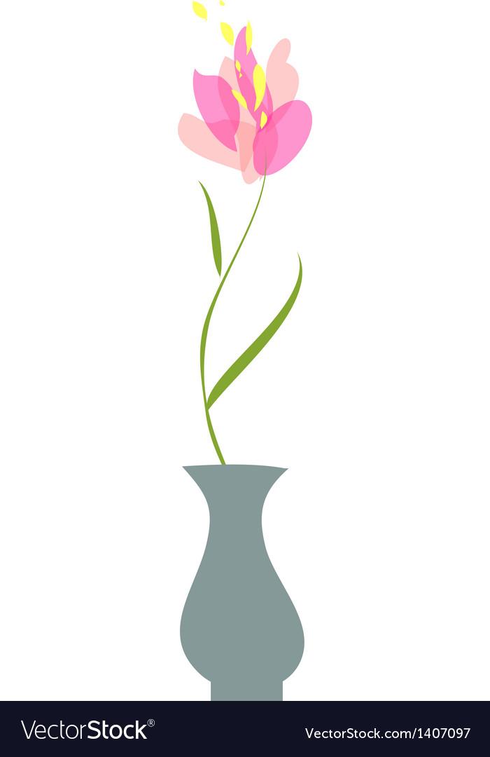 A vase vector | Price: 1 Credit (USD $1)