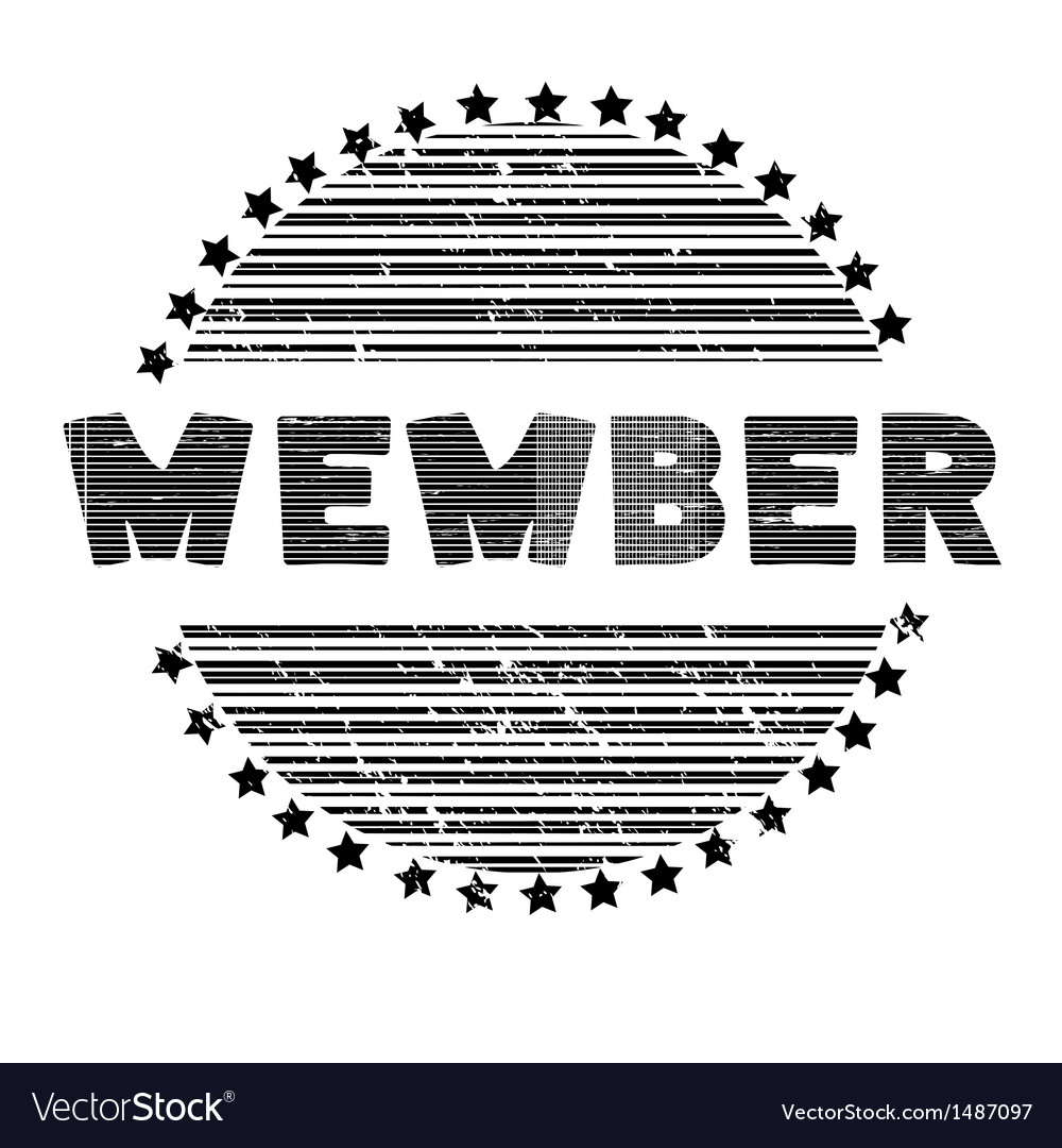 Member vector | Price: 1 Credit (USD $1)
