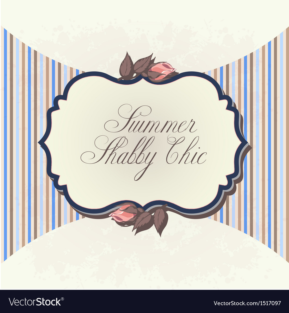 Shabby chic background vector | Price: 1 Credit (USD $1)