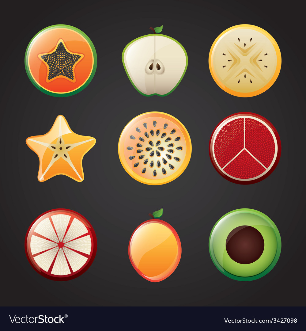Fruits design vector | Price: 1 Credit (USD $1)