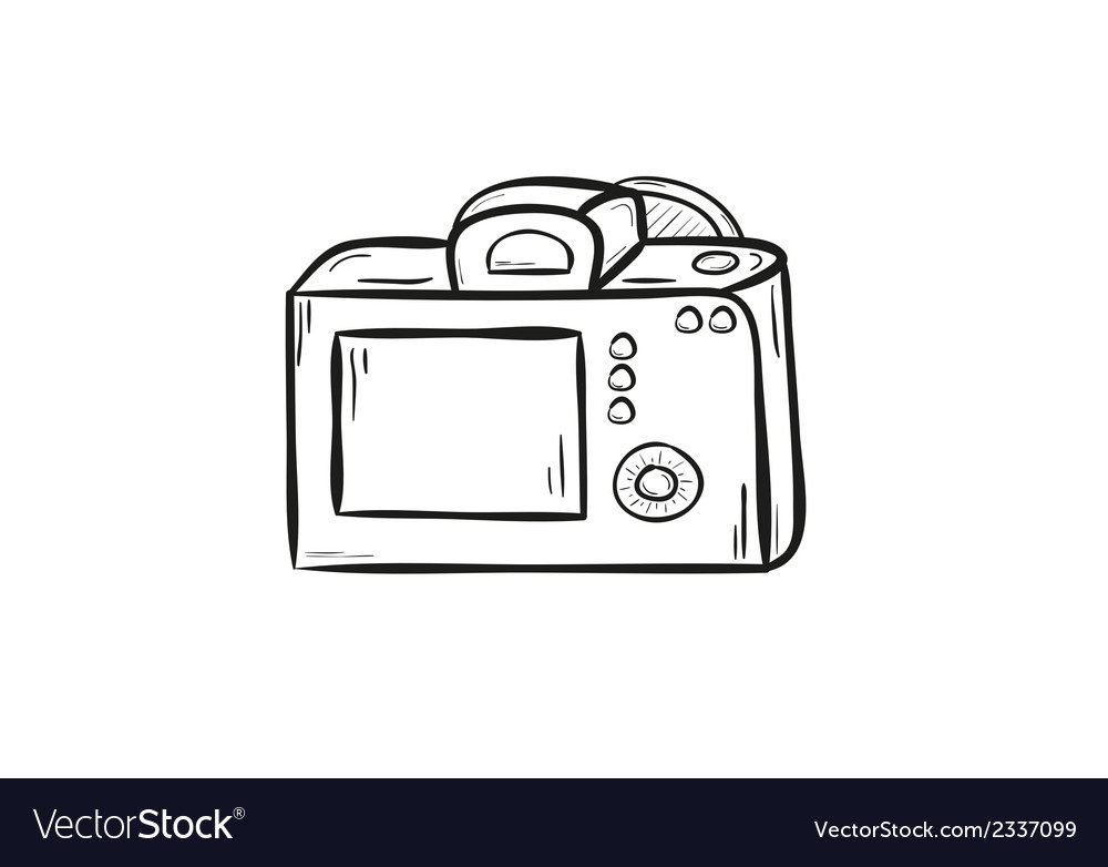 Camera back side vector | Price: 1 Credit (USD $1)