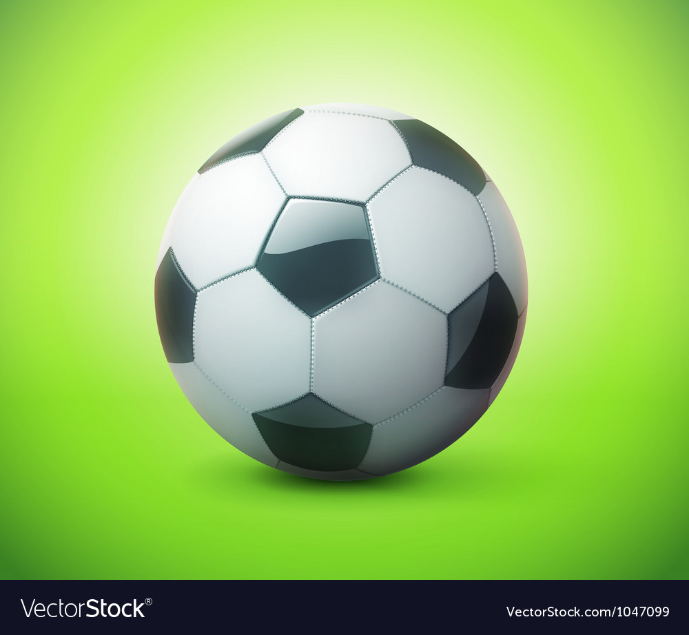 Football or soccer ball vector | Price: 3 Credit (USD $3)