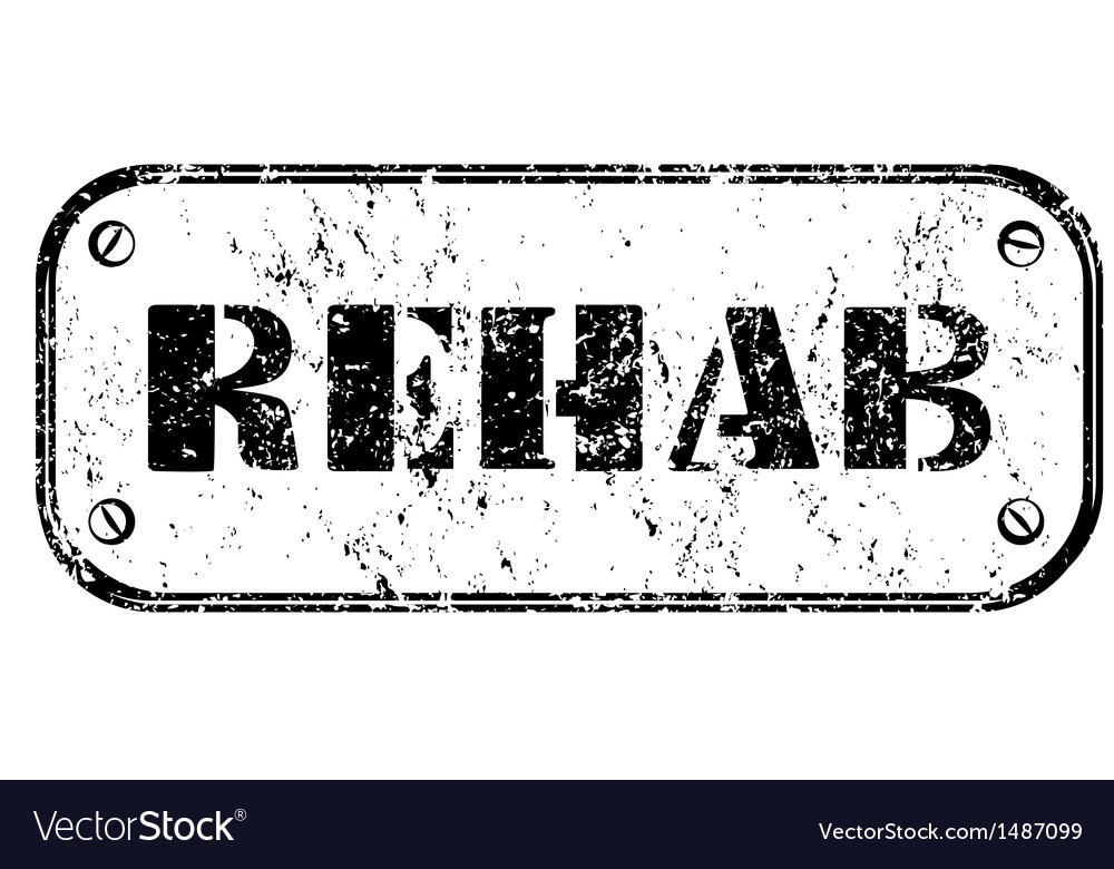 Rehab vector | Price: 1 Credit (USD $1)