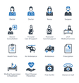 Medical health and care icons set 1 - services vector