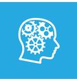 Brain gears 2 vector