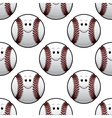 Baseball seamless pattern vector