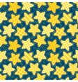 Children seamless pattern with stars vector