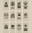 Vintage coffee vector