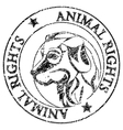 Animal rights vector