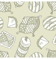 Seamless pillows pattern vector
