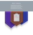 Bookmark icon eps10 vector
