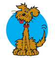 Mutt dog vector