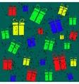 Gift vintage background vector