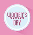 Happy womens day vector