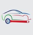 Car repair company logo vector