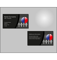 Business card layout vector