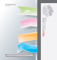 Tag book for education business infographic backgr vector