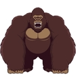 Angry gorilla vector
