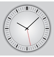 Abstract simple round clock vector