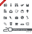 Office business basics series vector