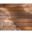 Floral decorations for beautiful holiday design vector