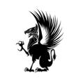 Griffin heraldry 1 vector