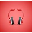 Headphones  graphic concept vector