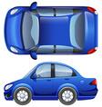 A sedan vehicle vector
