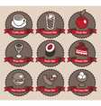 Collection food vector