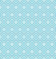 Seamless hexagon pattern background vector